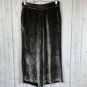 Madewell Pants - Madewell Velvet Pull-On Pants Dark Metal Size MD